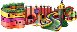 hundertwasser doodle for gold plate picasso wordpress