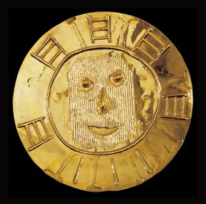 A gold plate by Picasso